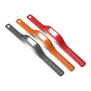 vivofit腕带替换包(红橙灰-L)