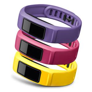 vivofit 2 腕带替换包(紫粉黄-L)
