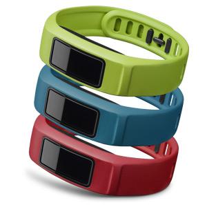 vivofit 2 腕带替换包 (红蓝绿-S)