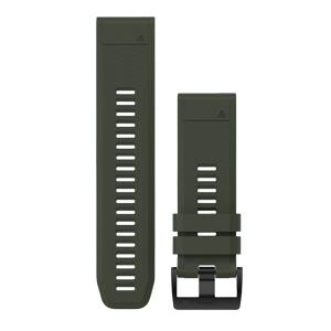 青苔绿硅胶快拆表带(26 mm)