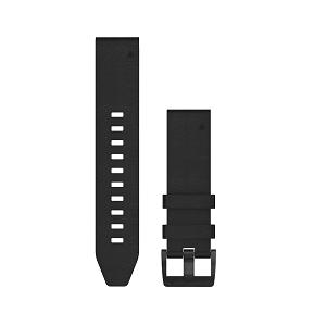 黑色皮质快拆表带(22mm)