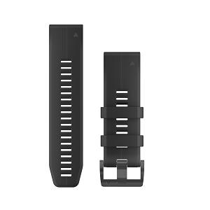 墨黑色硅胶快拆表带(26mm)