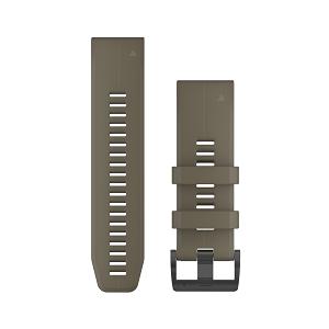 狼棕色硅胶快拆表带(26mm)